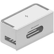 AlzaPower Cable Box Socket šedý - Organizér kabelů