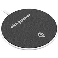 AlzaPower WC120 Wireless Fast Charger bílá - Bezdrátová nabíječka