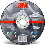 3M Silver Depressed Center Grinding Wheel, T27, 115 mm x 7 mm x 22.23 mm - Brusný kotouč