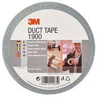 3M™ Duct Tape základní textilní páska 1900, stříbrná, 50 mm x 50 m v blistru - Lepicí páska