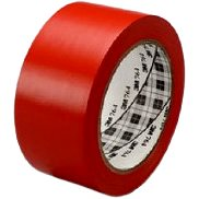 3M ™ universal marking PVC adhesive tape 764i, red, 50 mm x 33 m
