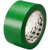 3M ™ universal marking PVC adhesive tape 764i, green, 50 mm x 33 m