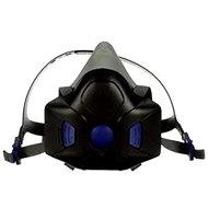 Ochranná maska Polomaska 3M HF-802SD Secure Click s mluvítkem, (M), 1 / EA / MEDIUM