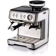 Ariete nerezový espresso kávovar  s mlýnkem 1313 - Pákový kávovar