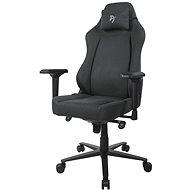 AROZZI PRIMO Woven Fabric černá s šedým logem - Herní židle