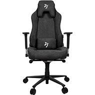 AROZZI Vernazza Soft Fabric tmavě šedá - Herní židle