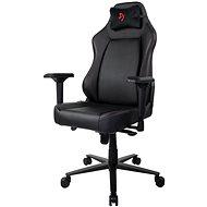 AROZZI PRIMO PU černá s červeným logem - Herní židle