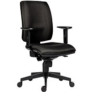 Kancelářská židle ANTARES 1380 Syn Flute SL černá + područky BR06 - Kancelářská židle