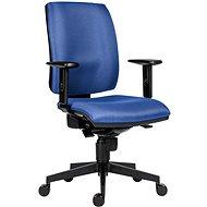 Kancelářská židle ANTARES 1380 Syn Flute SL modrá + područky BR06
