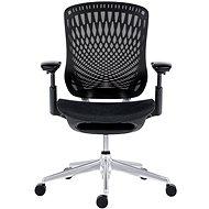 ANTARES BAT NET BLACK PERF černá - Kancelářská židle