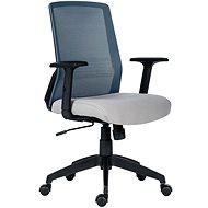 ANTARES Novello černo/šedá - Kancelářská židle