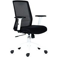 ANTARES Novello bílo/černá - Kancelářská židle