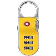 YALE PADLOCK YTP2/26/216/1Y with TSA, Yellow - TSA luggage lock