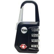 YALE VISACÍ ZÁMEK YTP5/31/223/1 s TSA, černý - Zámek na zavazadla TSA