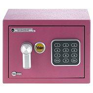 YALE Safe mini YSV/170/DB1/P růžový - Trezor