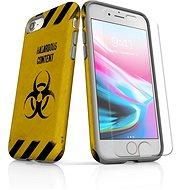 MojePouzdro Tough pro iPhone 8 SLVS0009 Na vlastní riziko - Ochranný kryt by Alza
