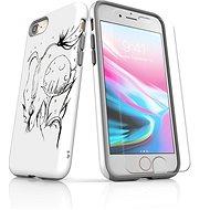MojePouzdro Tough pro iPhone 8 SLVS0029 Jak život roste - Ochranný kryt by Alza