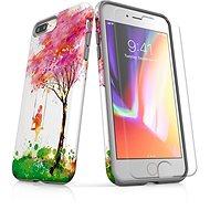 MojePouzdro Tough pro iPhone 8 Plus SLVS0028 Strom štěstí - Ochranný kryt by Alza