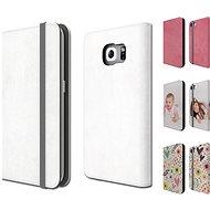 Skinzone vlastní styl Folio pro Samsung Galaxy S7/S6/S6 edge - Ochranný kryt Vlastní styl