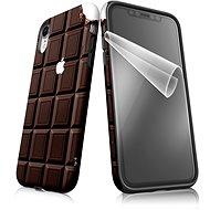 """Moje pouzdro """"Čokoláda"""" + ochranná fólie pro APPLE iPhone XR  - Ochranný kryt by Alza"""