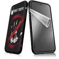 """Moje pouzdro """"Nesahat!"""" + ochranná fólie pro APPLE iPhone XR  - Ochranný kryt by Alza"""