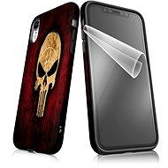 "Moje pouzdro ""Lebka"" + ochranná fólie pro APPLE iPhone XR - Ochranný kryt by Alza"