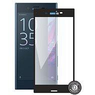 Screenshield SONY Xperia XZ F8331 na displej black - Ochranné sklo