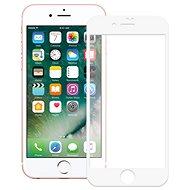 Screenshield APPLE iPhone 8 Tempered Glass Protection (full COVER white) na displej - Ochranné sklo