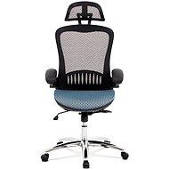 ARTIUM DRACO černo/modrá - Kancelářská židle