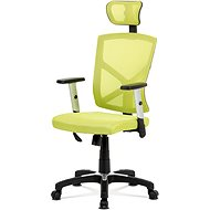 AUTRONIC Kokomo černo/zelená - Kancelářská židle