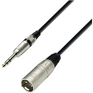 Adam Hall kabel XLR M - Jack 6.3mm M - Audio kabel