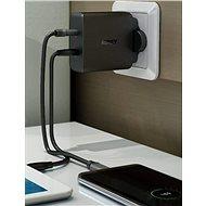 Aukey USB-C 2-port Wall Charger - Nabíječka