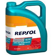 REPSOL ELITE LONG LIFE 5W-30 5l akce 4+1L zdarma - Motorový olej