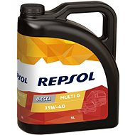 REPSOL MULTI G DIESEL 15W-40 5l - Motorový olej