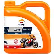 REPSOL MOTO SINTETICO 4-T 10W-40 4l - Motor Oil