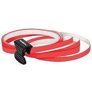 FOLIATEC - samolepící linka na obvod kola - neonově červená - Proužky na ráfky