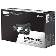 SENA 10C Single Kit, HD camera - Intercom