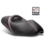 SHAD Komfortní sedlo vyhřívané černo/zelené, šedo/červené švy pro PIAGGIO/VESPA MP3 400 (2009-2013) - Sedlo na motorku