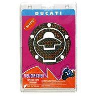 LAMPA Polep víčka nádrže Ducati 5/šroubů 3D duhový efekt - Polep víčka nádrže