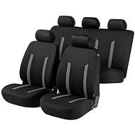 Walser seat covers for the entire Hastings vehicle grey/black - Car Seat Covers