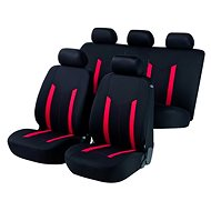 Walser Hastings Red/Black Seat Covers - Car Seat Covers