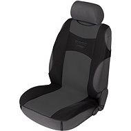 Walser Tuning Star Seat Covers for Front Seats, Black/Grey - Car Seat Covers