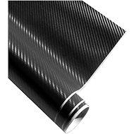 4CARS Fólie 3D CARBON se vzduchovými kanálky černá 1.52x5m - Fólie