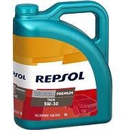 Repsol Premium TECH 5W-30 5 l (AKCE 4 l+1 l ZDARMA) - Motorový olej