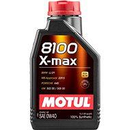 MOTUL 8100 X-MAX 0W40 1L - Motorový olej