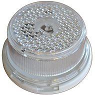 AGADOS Obrysová svítilna s odrazkou bílá kulatá - Příslušenství