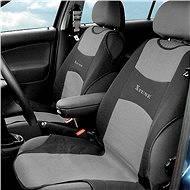 COMPASS Potah sedadla TRIKO přední 2ks tmavě šedý - Autopotahy