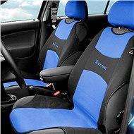 COMPASS Potah sedadla TRIKO přední 2ks modrý - Autopotahy