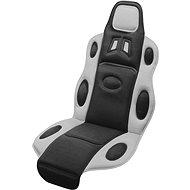 COMPASS Potah sedadla RACE černo-šedý - Autopotahy