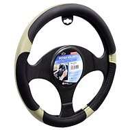 COMPASS GRIP steering wheel cover beige - Car Seat Covers